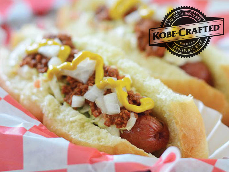 Kobe-Crafted Beef Franks